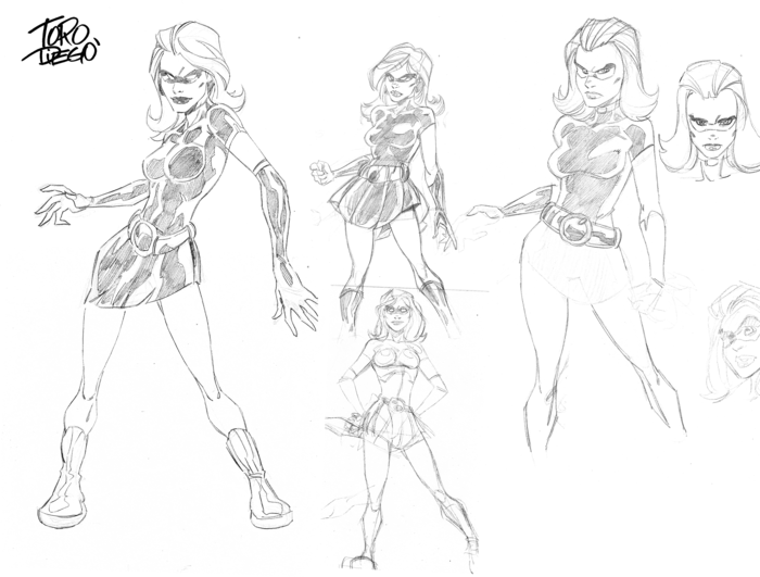 Concept Sketches - Lark
