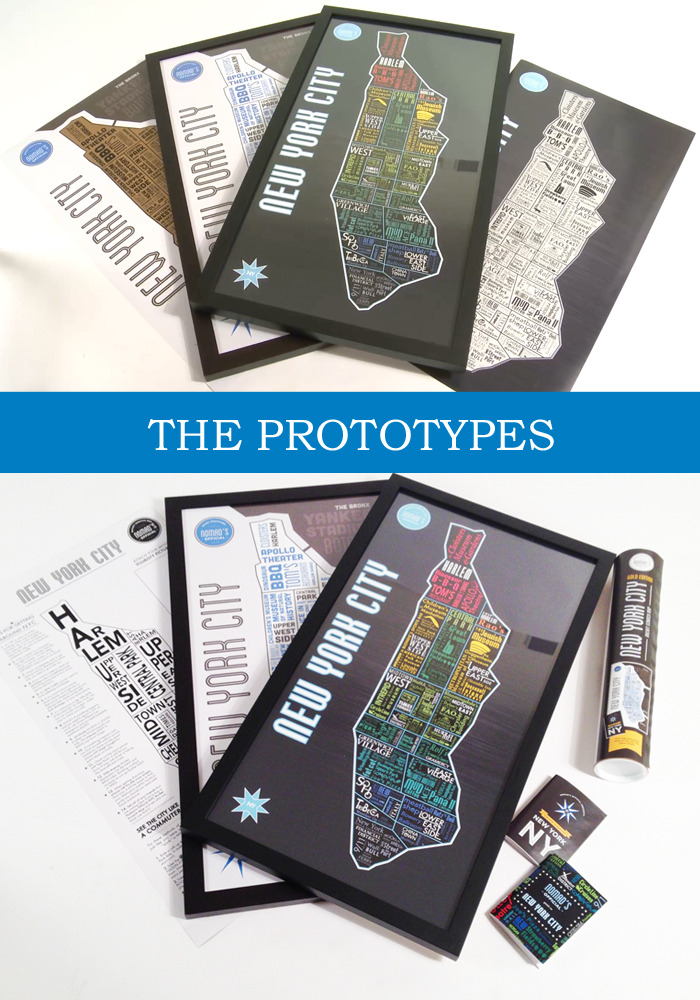 *Both versions of the map include a scratch off foil layer (Gold or Platinum).