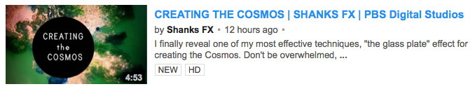 CREATING the COSMOS