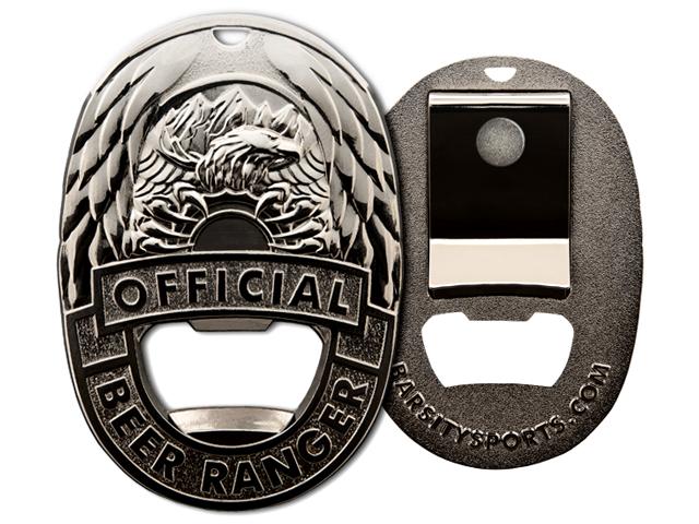 Beer Ranger Badge - Shiny Finish.