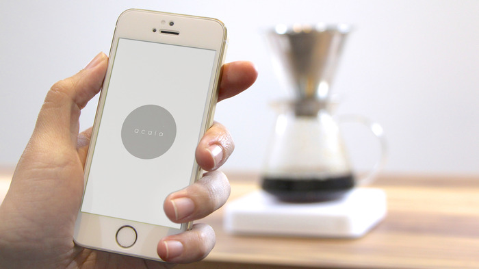 The Acaia Coffee brewing app