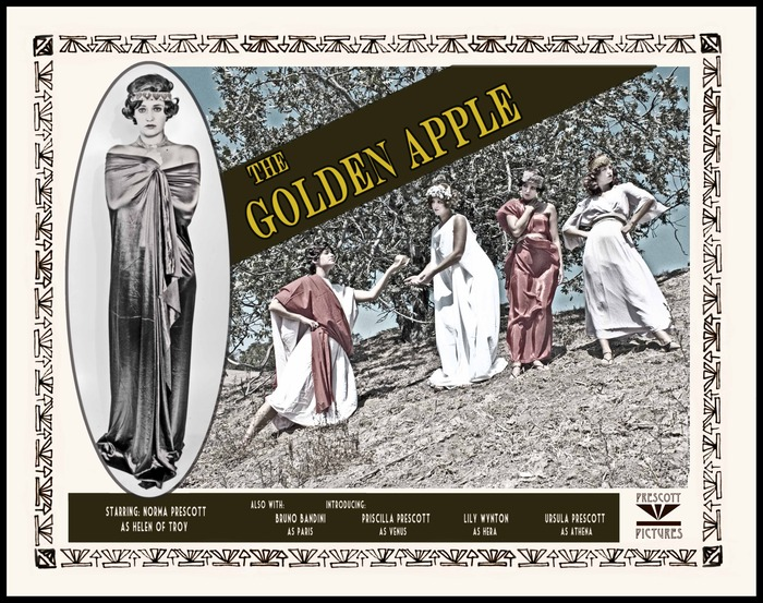 The Golden Apple Poster, 1919 (2013)