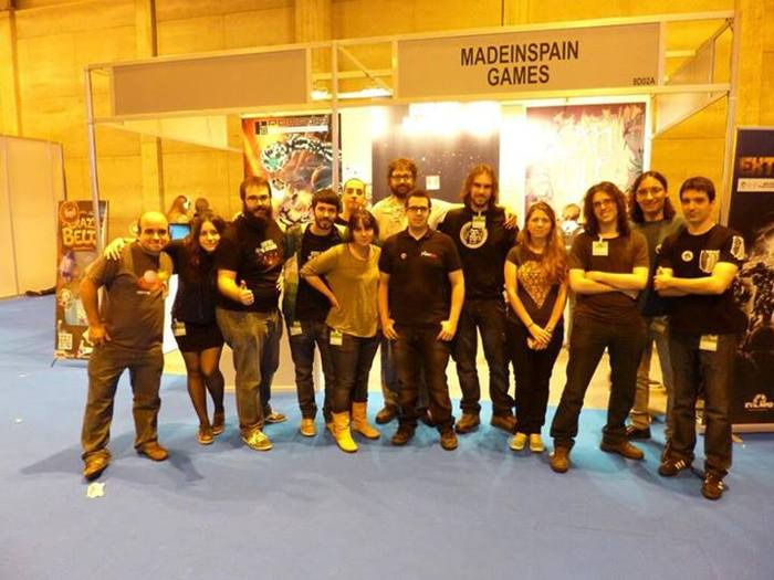 MadeInSpain stand, introducing Teku Studios, Deconstructeam, BeautiFun Games, Kraken Empire, EvilMind Ent. and more!