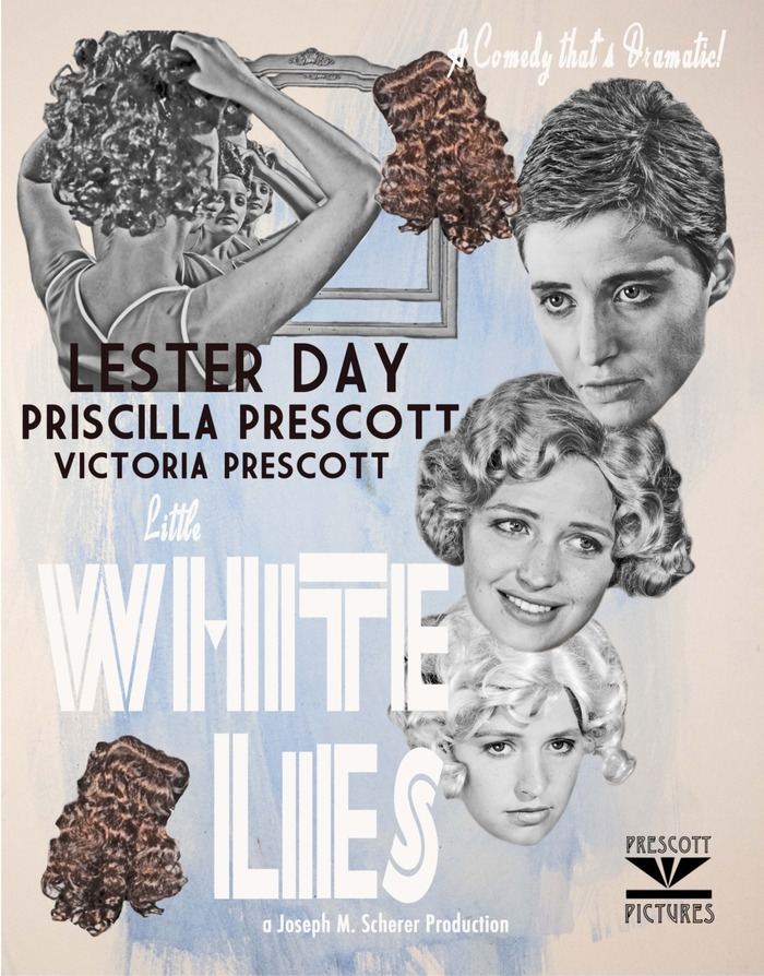 Little White Lies Poster, 1951 (2013)
