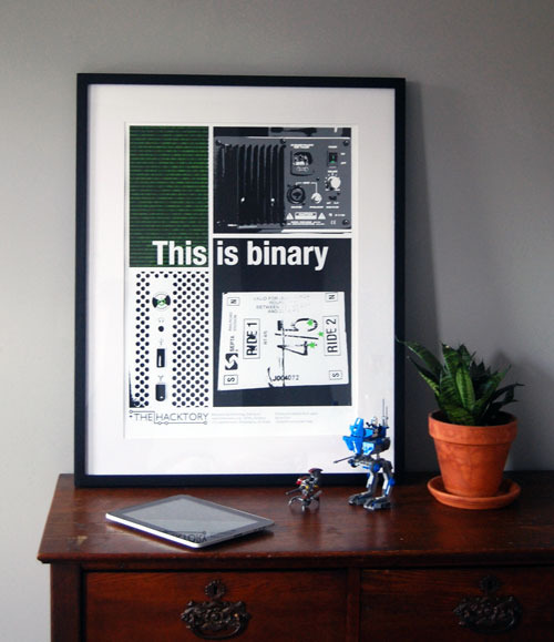 This is Binary Poster view