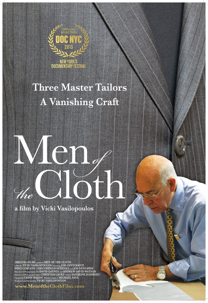 The official MEN OF THE CLOTH poster