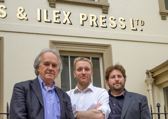 Alastair Campbell, Roly Allen and Adam Juniper of Ilex Press