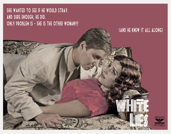 Little White Lies Lobby Card, 1951 (2013)