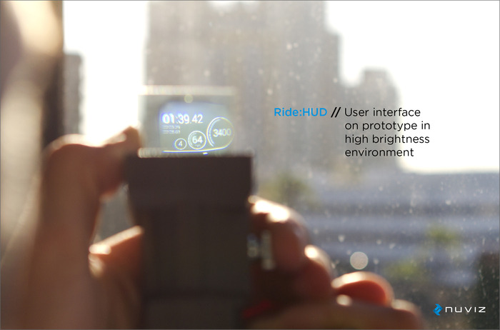 the first head up display for motorcycle helmets by nuviz kickstarter. Black Bedroom Furniture Sets. Home Design Ideas
