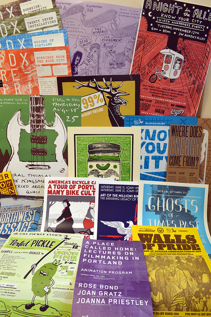 Know Your City/ Dill Pickle Club poster collection