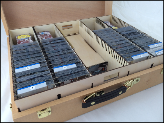 Board game storage chests tokens inserts more by bobby for Board game storage solutions