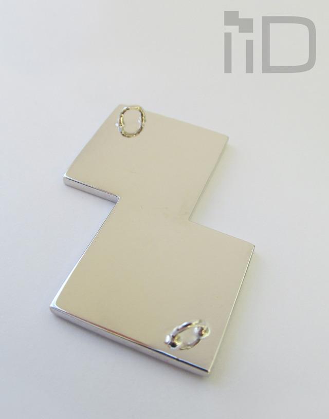 the iiD prototype - underside (two D rings)