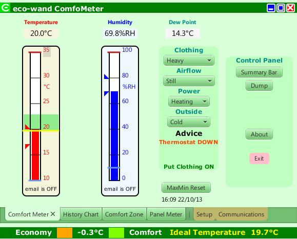Comfort Meter Scene