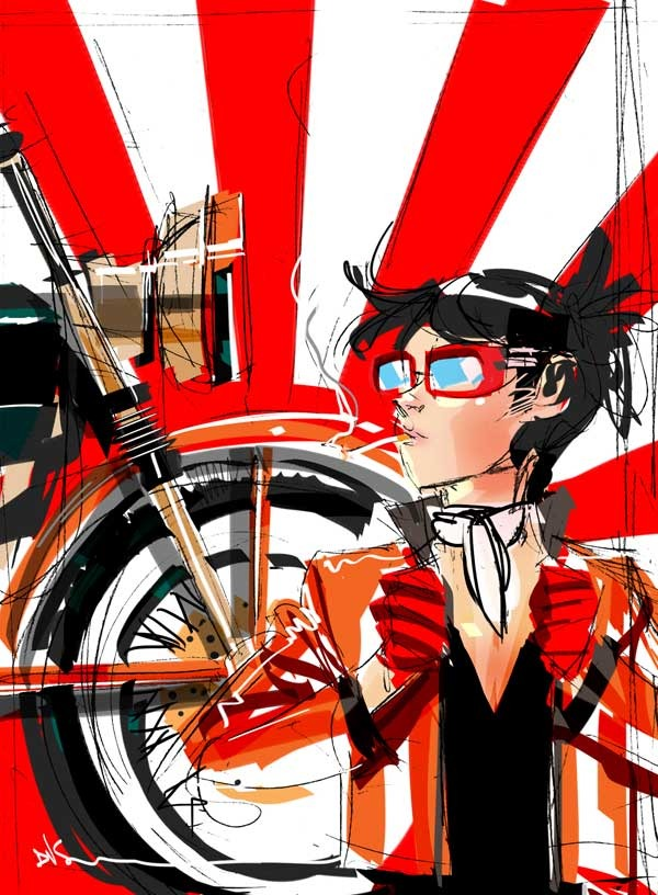 Prelim for Cafe Racer by Dustin Nguyen