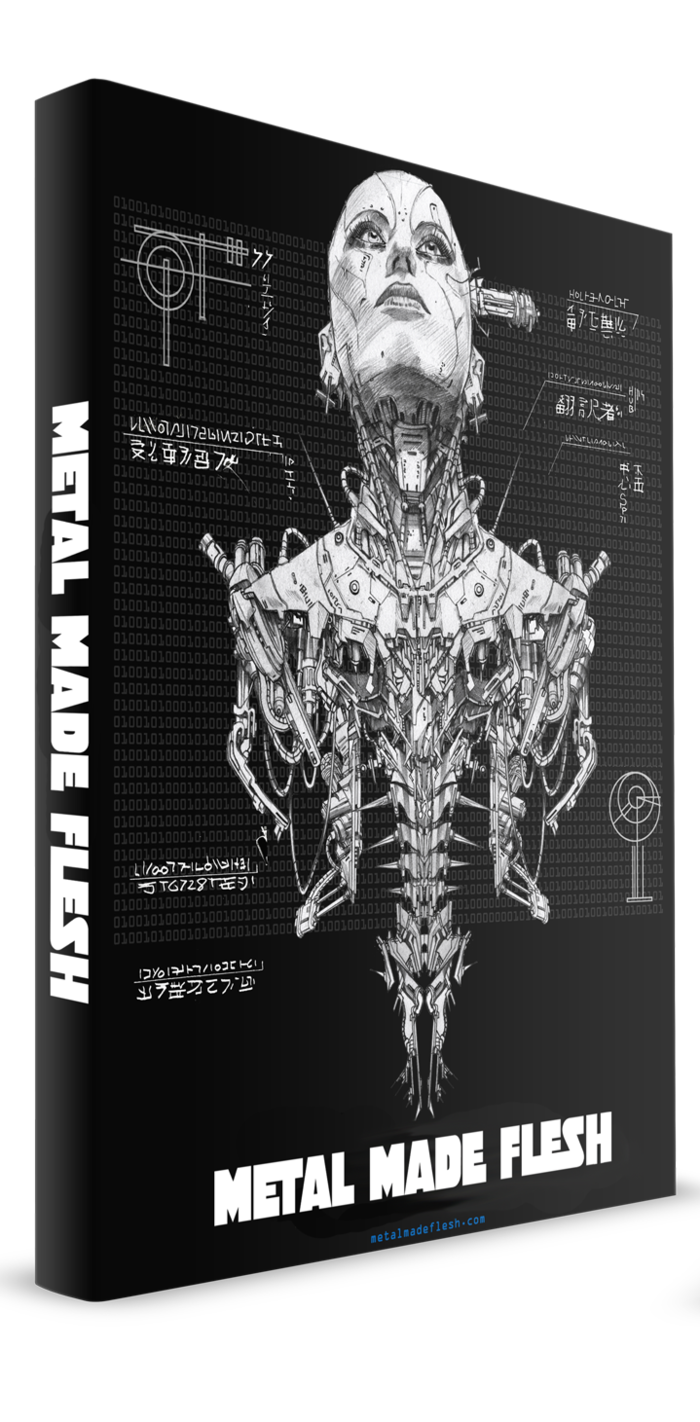 Metal Made Flesh Collected Edition (Mockup)
