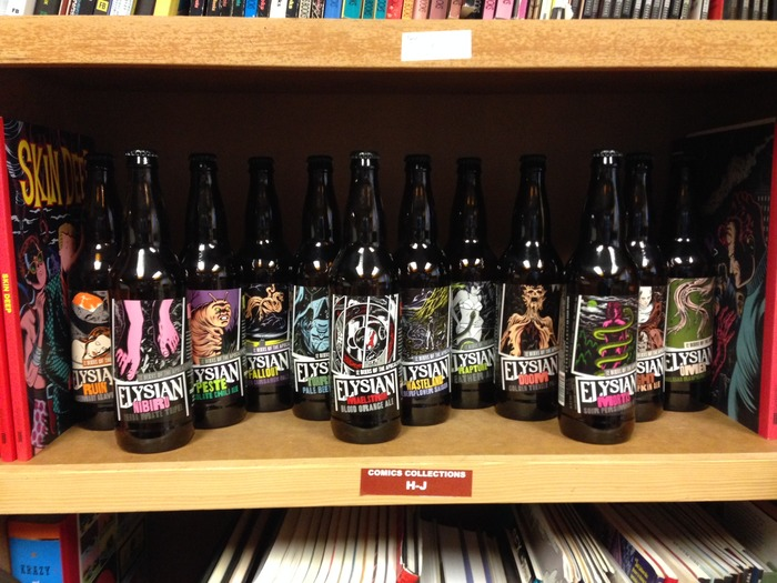Charles Burns beers