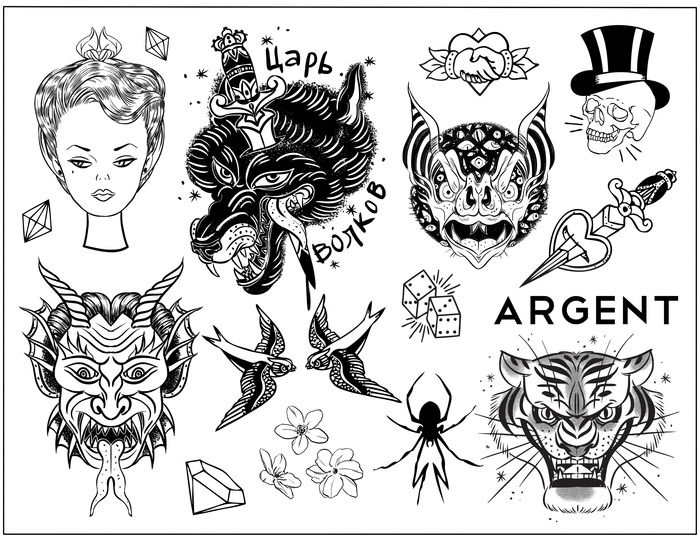 Tattoo Flash Sheets Tumblr Temporary tattoo : flash sheet
