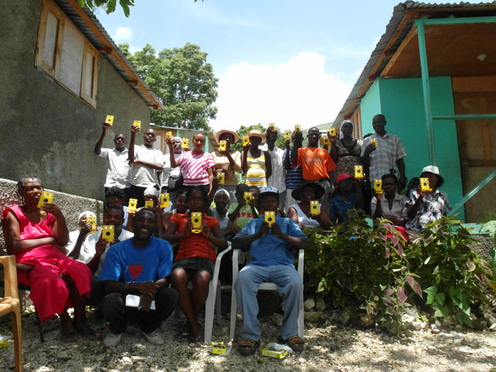 Many families in Lascahobas received WakaWaka Lights. Read what they have to say!