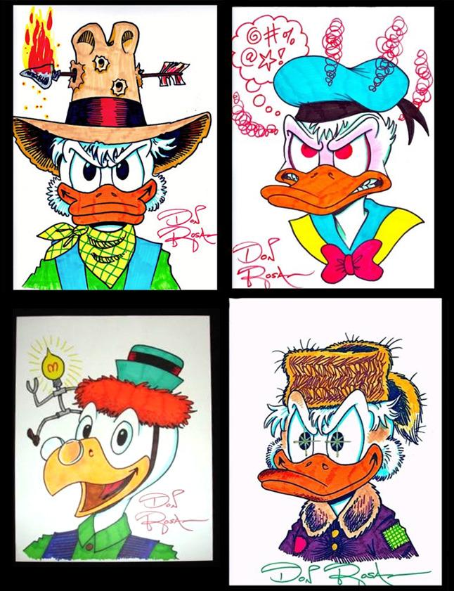 Rosa sketches