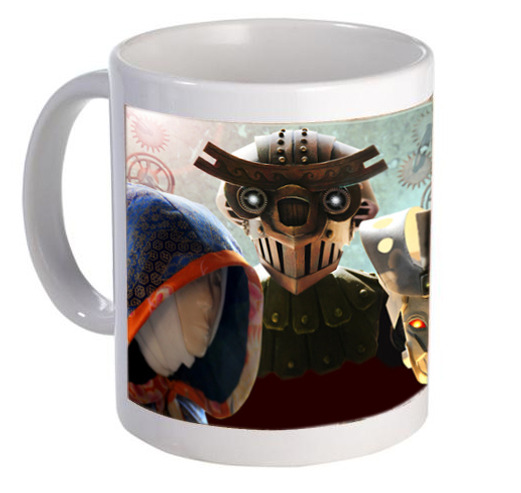 Monster Mug! (final design will feature finished puppets)