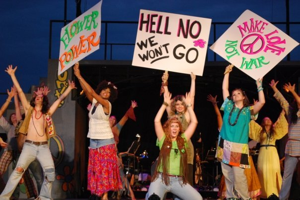 "Cast of ""Hair"", 2010"