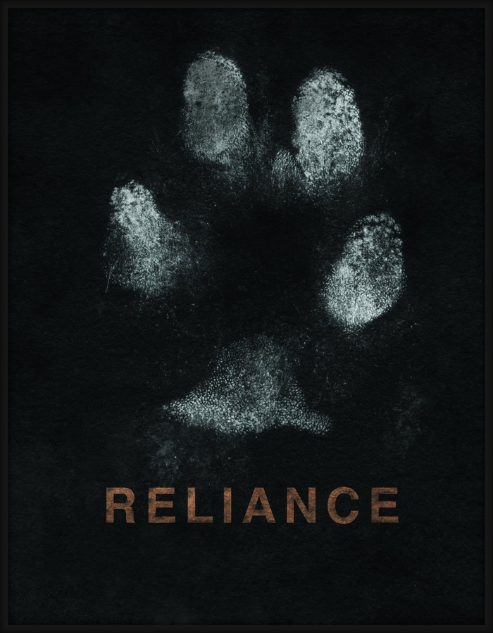 Limited edition 8x10 Print RELIANCE Search dog PAWTOGRAPH on Fine Art Paper