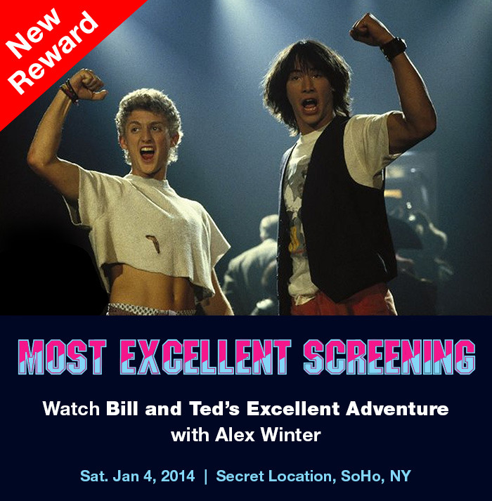 MOST OUTSTANDING BILL AND TED'S SCREENING PARTY: