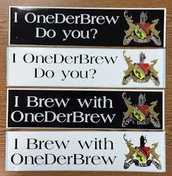 OneDerBrew™ Bumper Stickers