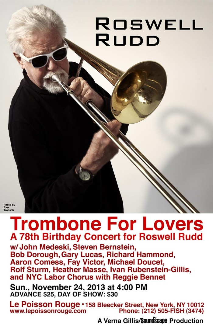 TROMBONE FOR LOVERS concert - tomorrow