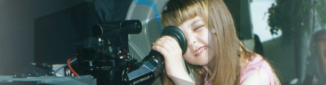 VENUS in 2003, already into VIDEO MAKING!