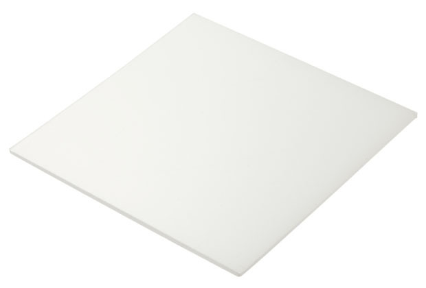 Laser Cut White Polypropylene Plastic Sheets