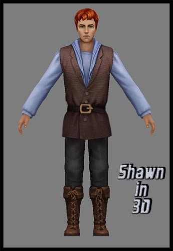 Shawn in 3D