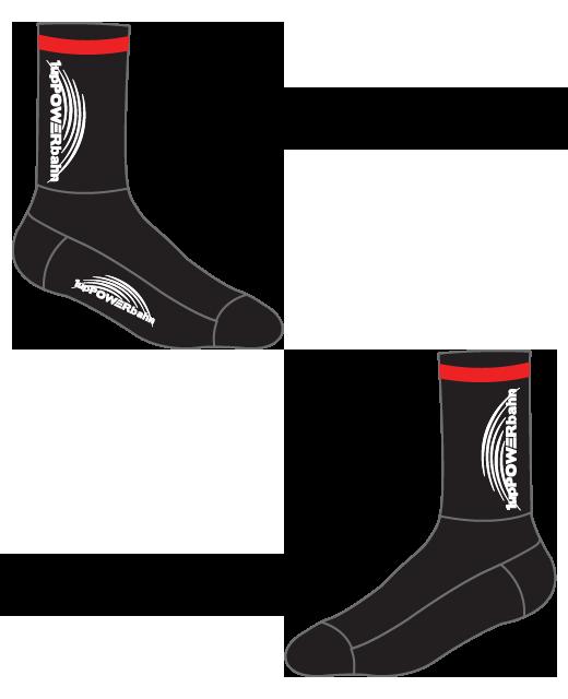 1upPOWERbahn Socks