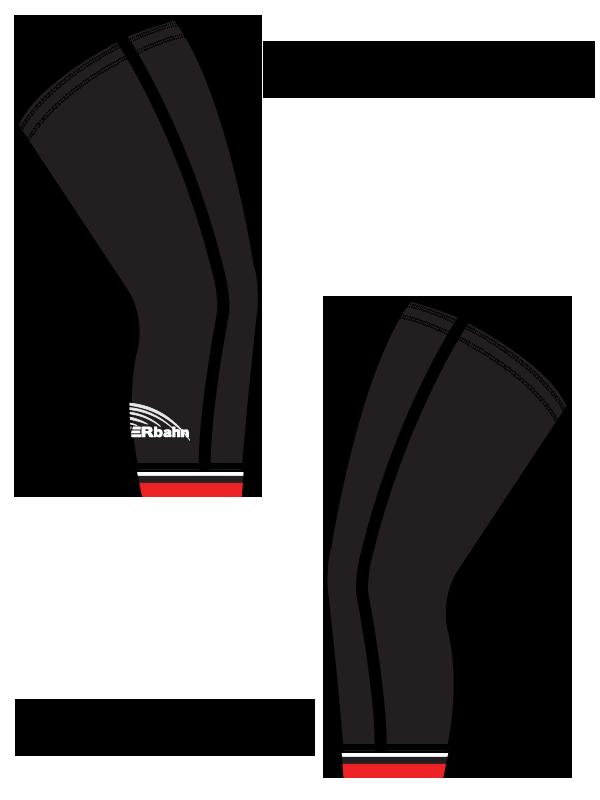 1upPOWERbahn Knee Warmers