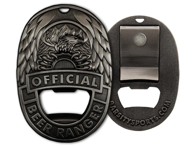 Beer Ranger Badge - Vintage Finish.