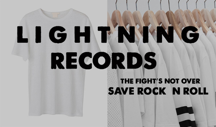Lightning Save Rock n Roll T Shirt