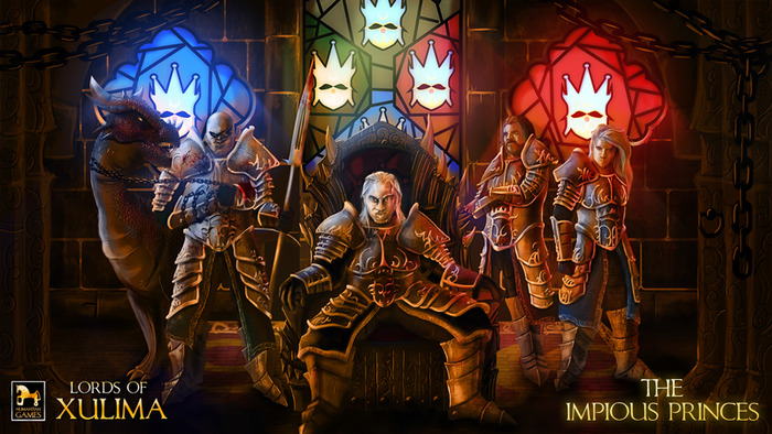 From Left to Right: Darthenos, Ovenhel, Nengorth and Khornil.
