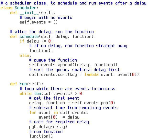 Python 3 Sample Programs