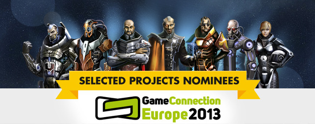 AstroLords nominated for Selected Projects at Game Connection Europe 2013