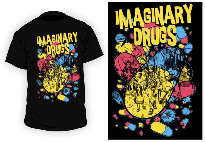 An Imaginary Drugs T-shirt!