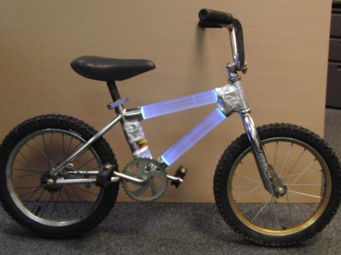 "The first full ""light"" bike"