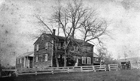 The Fruitlands Farmhouse c.1900