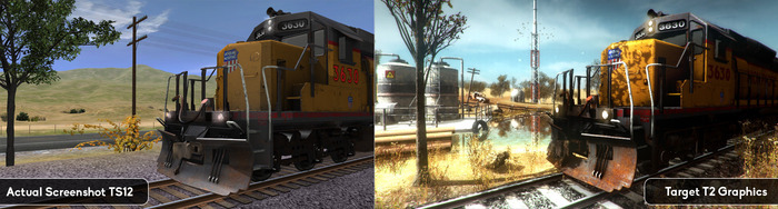 Comparison Trainz 12 vs Trainz: A New Era target graphics