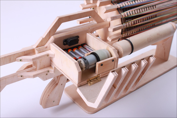 Rubber Band Machine Gun with unique Fast Charger by Alex ...