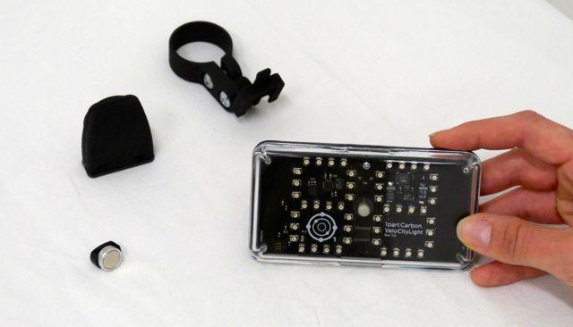 VeloCityLight, VeloCitySensor, Bracket & Spoke Magnet