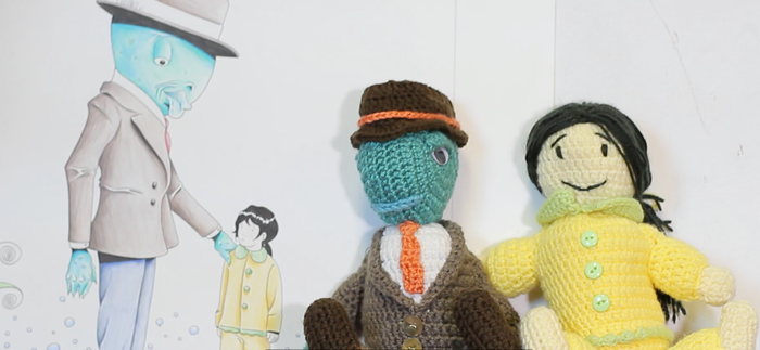 Hand-Crocheted Dolls by Katharine Maller. (Kickstarter Exclusive!)