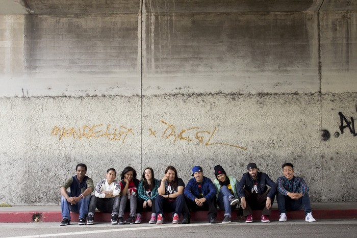 Versa-Style Dance Company reflecting on their journey. (Credit: Earl Buenaobra)