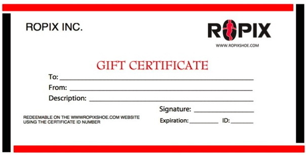 Give the gift that keeps on Jumping ! Upon your request, we will send you a gift certificate to be used at anytime for the reward of your pledge.