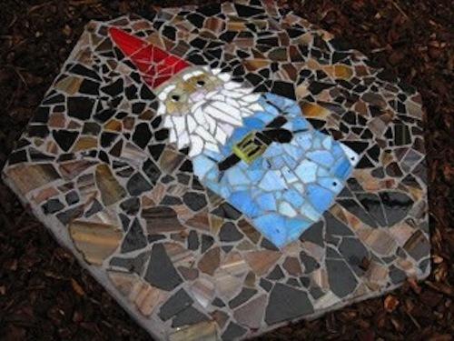 Mosaic Stepping Stone - a super special pledge reward!