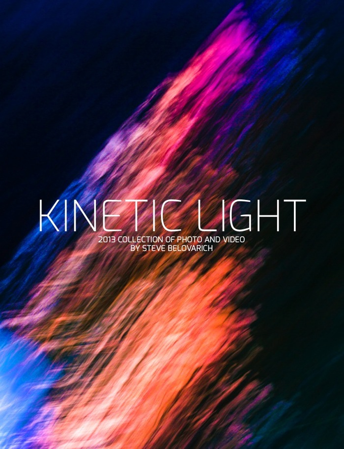 Cover of the Kinetic Light eBook